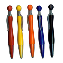 Plásticos Retractable Ball Pen bolígrafo promocional